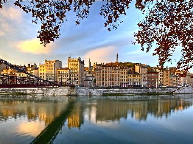 Passerelle Saint-Vincent, Saône River © Lyon Tourism and conventions