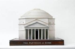 (A model of The Pantheon)