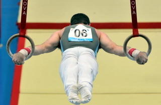 Pommel horse (gymnastics) (Photograph: © Getty Images)