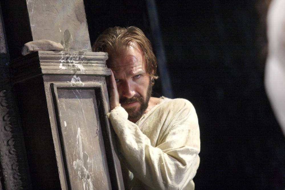 Ralph Fiennes as Prospero in The Tempest at Theatre Royal Haymarket
