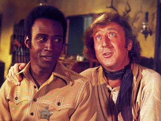 Cleavon Little and Gene Wilder in 'Blazing Saddles'