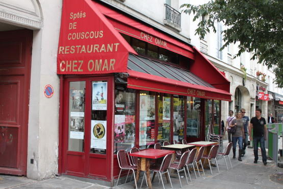 Chez omar 47 rue de bretagne 3e restaurants and caf s time out paris - Restaurant porte maillot chez georges ...