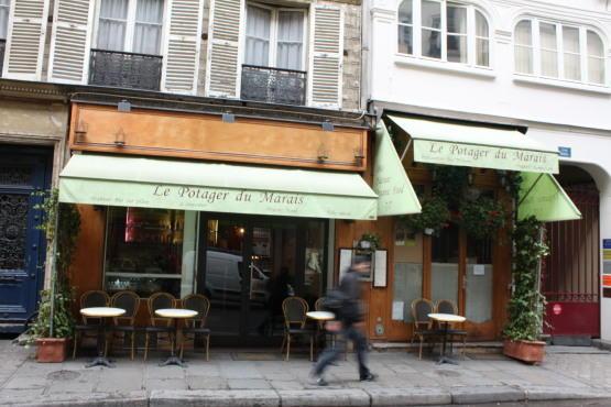 Le Potager Du Marais 22 Rue Rambuteau 4e Restaurants