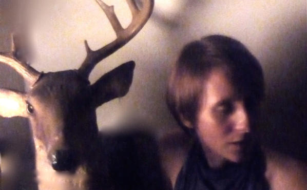 DEER IN THE HEADLIGHTS Melanie Maar explores Spaces and Bones.