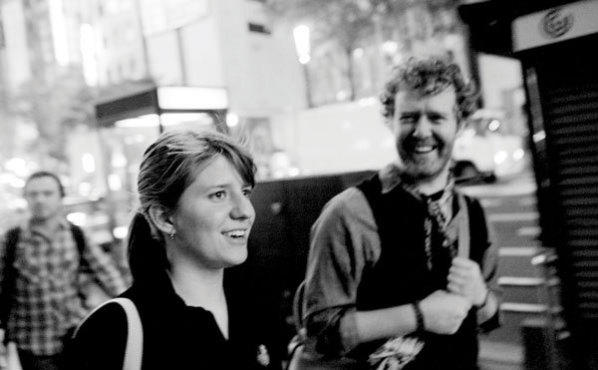 Markta Irglov and Glen Hansard in The Swell Season