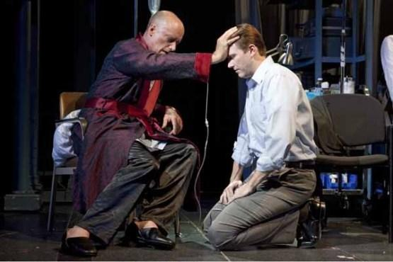 Frank Wood and Bill Heck in Angels in America