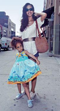 Nubia, 31, and Laila, 4