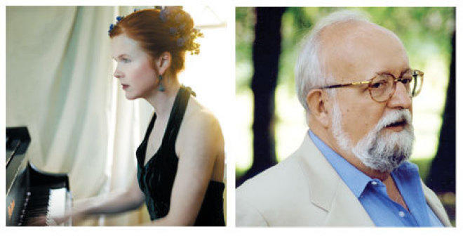 A MATTER OF PERSPECTIVE Sarah Cahill and Krzysztof Penderecki offer unique approaches to socially conscious music.