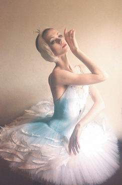 DEAD AND ALIVE Ullana Lopatkina as the Dying Swan.
