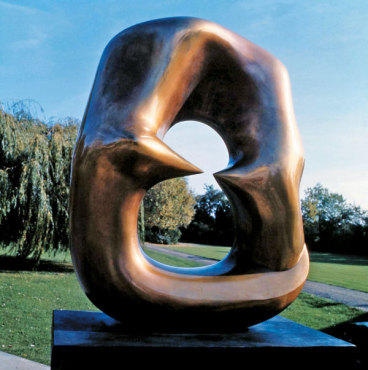 OH HENRY! Oval with Points (1968–70) was inspired by an elephant skull.