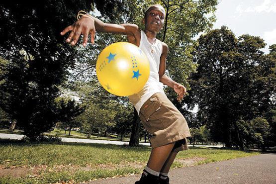 Joshua Ward at Bronx Park