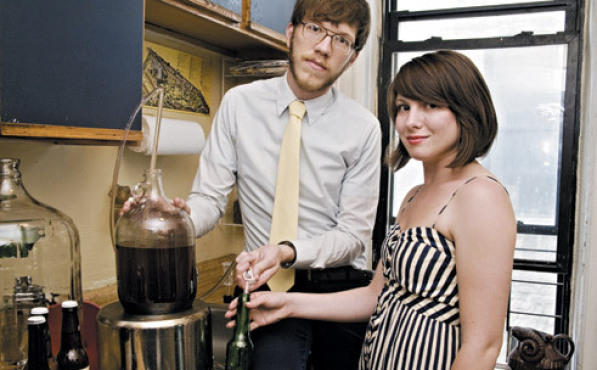 Brooklyn Brew Shops Erica Shea and Stephen Valand