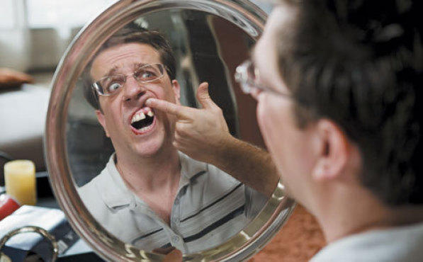 Ed Helms in The Hangover. Don't let this happen to you.