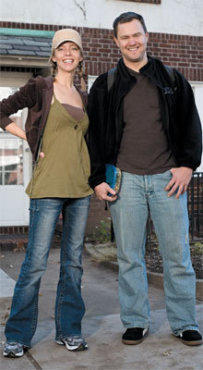 Amy Eschman and Richard True