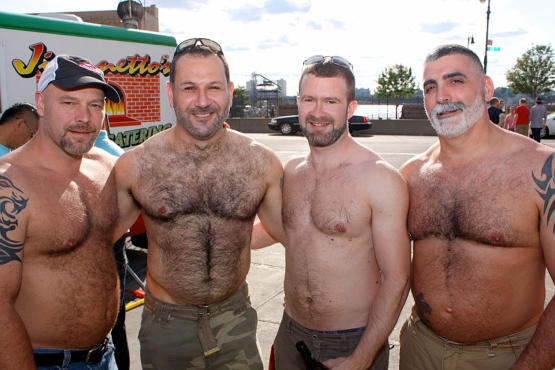 Urban Bear Weekend revelers