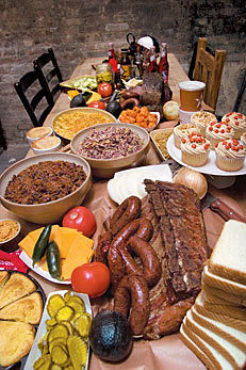 A barbecue smorgasbord at Hill Country.