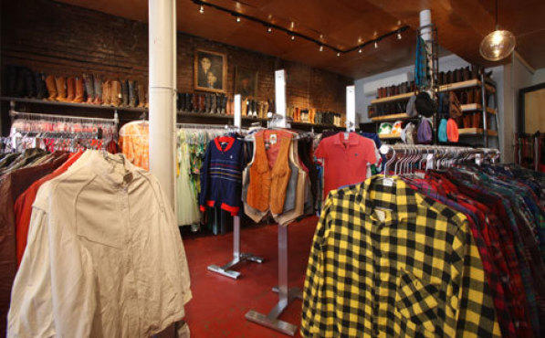 Best vintage shops for men