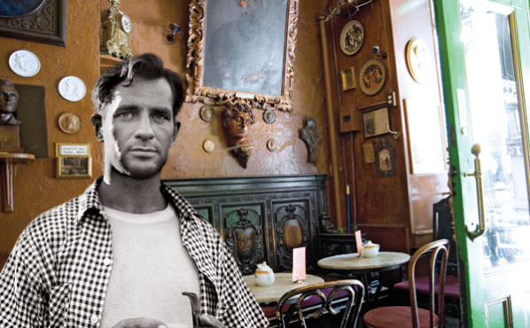 Jack Kerouac in Caffe Reggio