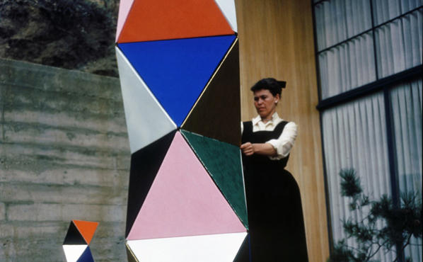 Ray Eames in Eames: The Architect and the Painter