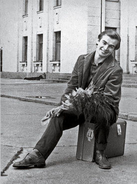 "CASE IN POINT Take Rudolf Nureyev's advice: ""Sit down on suitcase for a minute. It is old Russian superstition. Will work."""