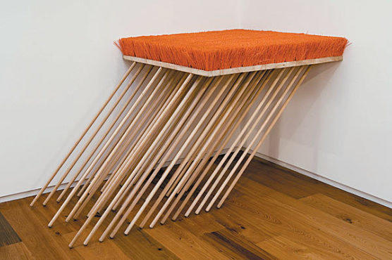 Michael DeLucia, Untitled (push brooms)