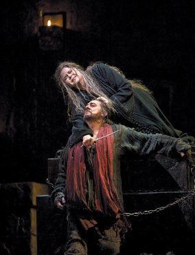 SLICE OF LIFE Susan Graham and Placido Domingo playd star-crossed siblings in Iphigenie en Tauride at the Metropolitan Opera.