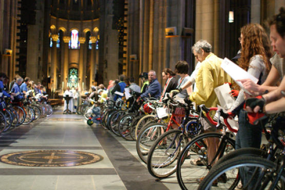 <p>Blessing of the Bicycles</p>