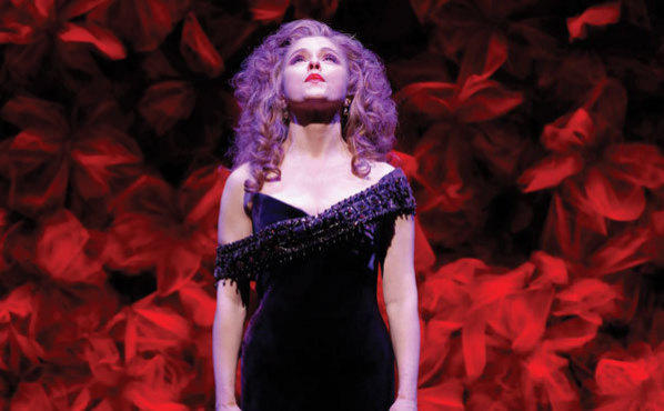 THE PETERS PRINCIPLE Bernadette Peters strikes an iconic pose.