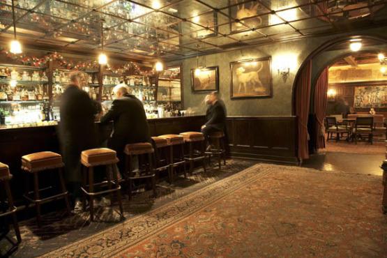 The Lobby Bar At The Bowery Hotel