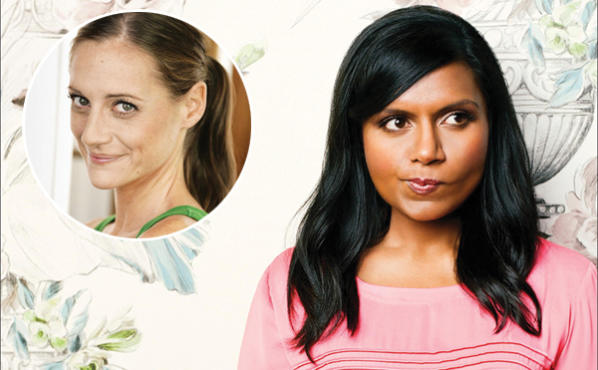 Mindy Kaling (right) and Brenda Withers