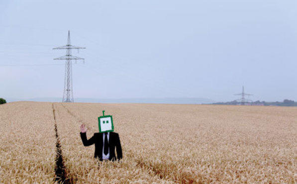 <p>FARM MACHINERY Lambkin rocks the electronics from his home in rural Germany.</p>