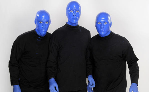 Blue Man Group listing