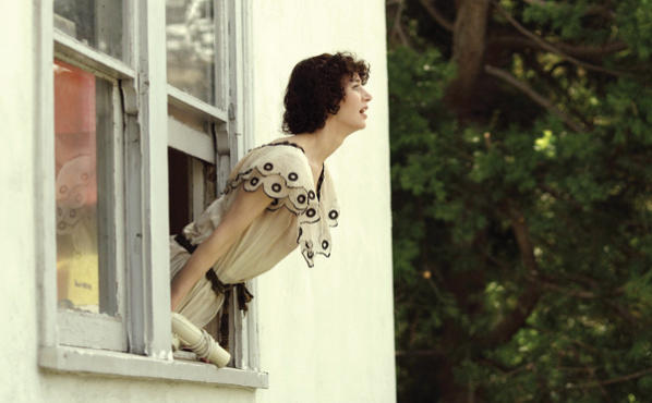 <p><strong>SCREAM OF THE CROP</strong> Miranda July lets out a rebel yell in The Future.</p>