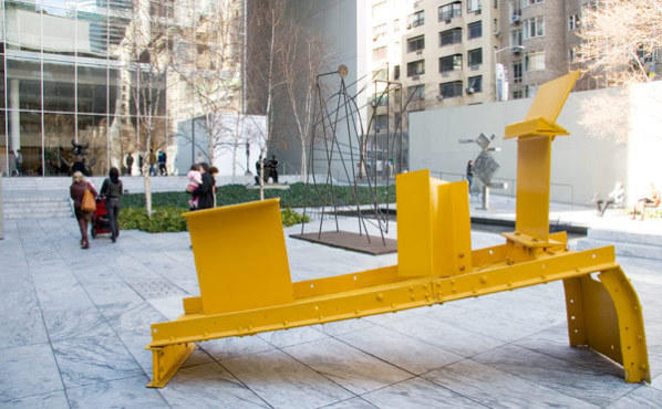 <p>MoMA sculpture garden</p>