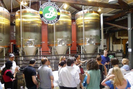 Tour Brooklyn Brewery