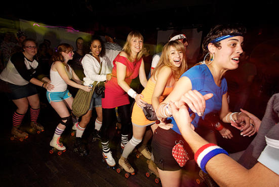 Down and Derby Roller Disco