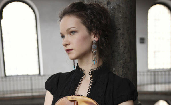 HAHN SOLO Violinist Hilary Hahn champions a work custom-made for her by an illustrious professor.