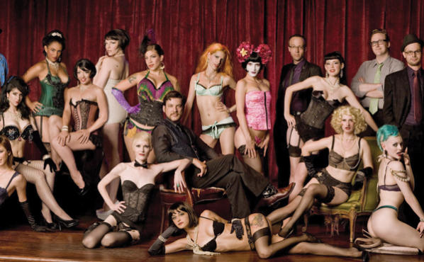 The Wasabassco Burlesque crew stages a Labor Day shindig Fri 31.