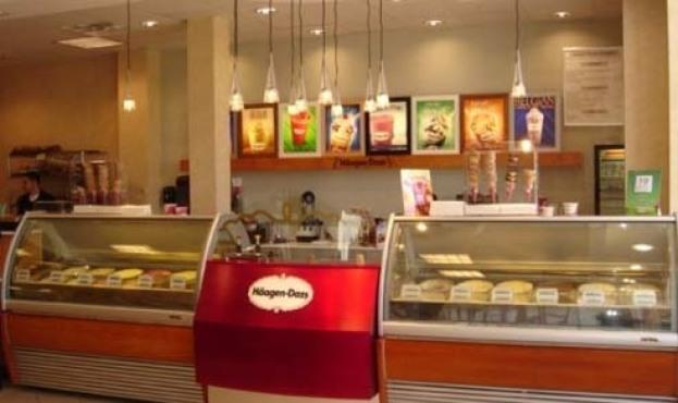 Stop by Hagen-Dazs for an on-the-house scoop today.