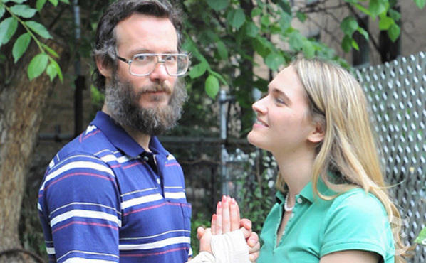 Ben Kronberg and Jena Friedman in Ted and Gracie