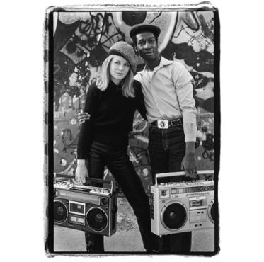 Tina Weymouth & Grandmaster Flash, NYC, 1981