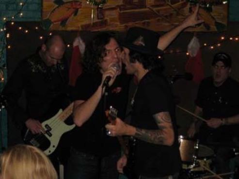 Channel Mick during Rolling Stones Karaoke.
