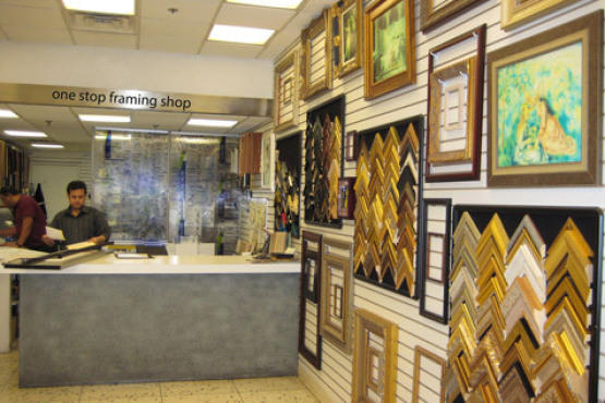 best shops for custom framing