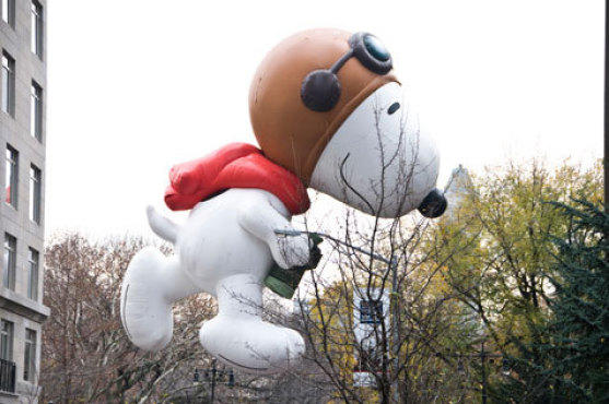 <p>Macy's Thanksgiving Day Parade.</p>