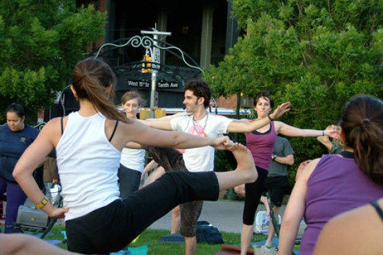 Outdoor Yoga Classes In NYC