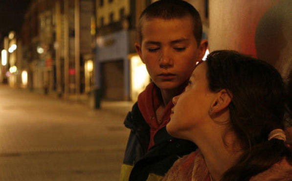 THE CITY OF LOST CHILDREN Curry and O'Neill look for shelter in Dublin's mean...