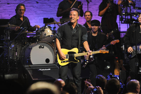 Bruce Springsteen and the E Street Band at the Apollo Theater