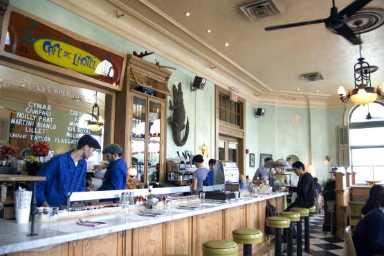 Cafe Gitane At The Jane Hotel Menu