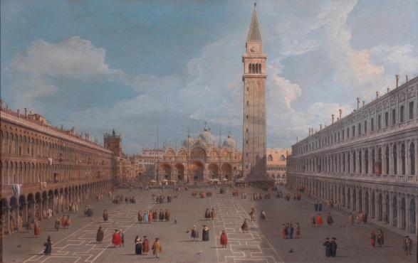Piazza San Marco, collezione privata