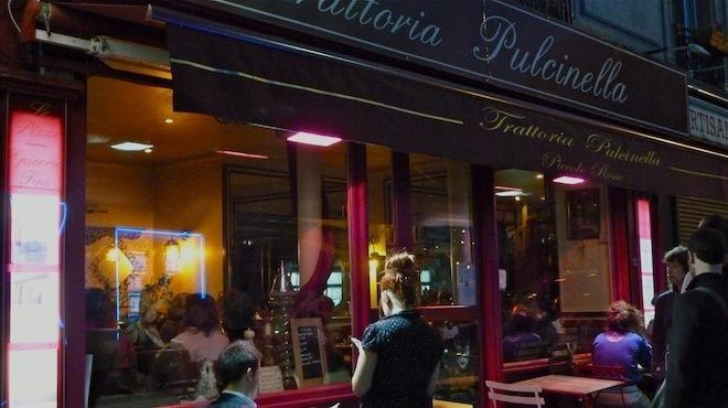 la trattoria pulcinella 2 rue eug ne sue 18e restaurants caf s time out paris. Black Bedroom Furniture Sets. Home Design Ideas